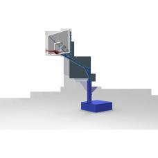 Стойка баскетбольная уличная свободностоящая