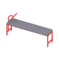 Скамейка для пресса уличная, прямая или наклонная