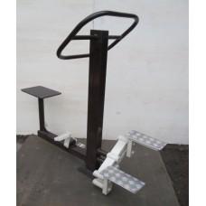 Тренажер уличный «Степ и вело»