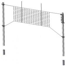 Стойки волейбольные с ползунами для регулировки сетки