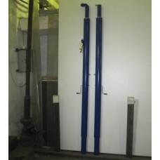 Стойки волейбольные телескопические с механизмом регулировки высоты