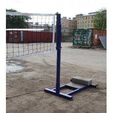 Стойки волейбольные телескопические с регулировкой высоты сетки